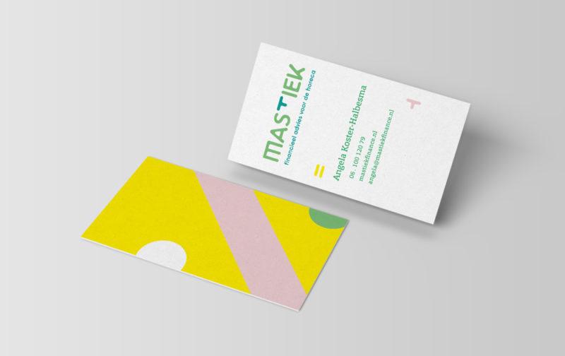 Mastiek FInance visitekaart